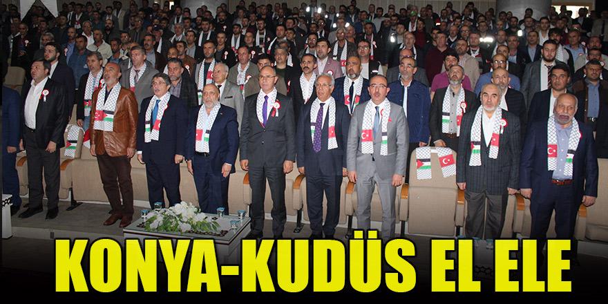 Konya-Kudüs el ele