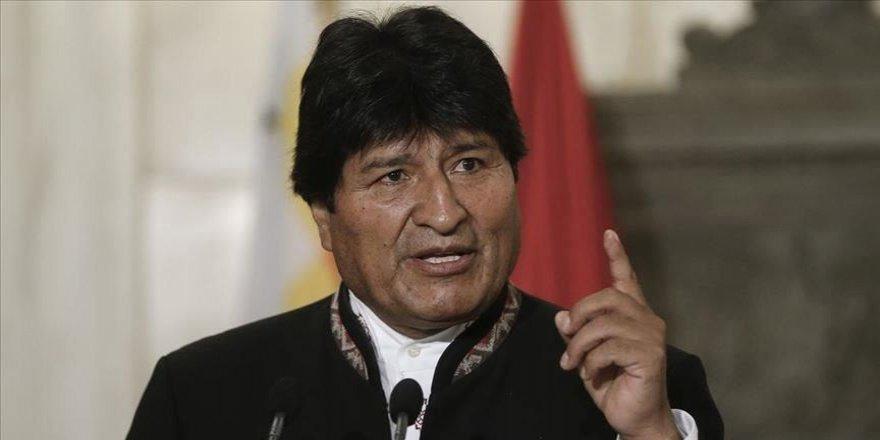 Morales, Interpol'ün hakkında çıkardığı mavi bültenle arama kararını eleştirdi
