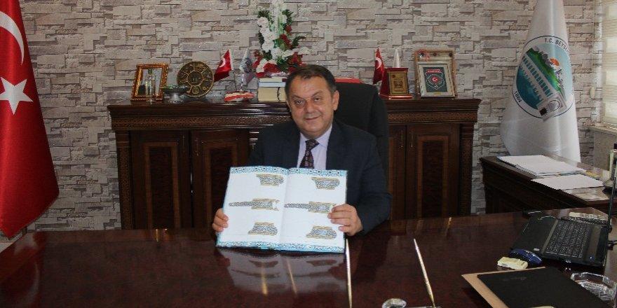 Beyşehir'de Selçuklu gravür sanatı kitaplaştırıldı