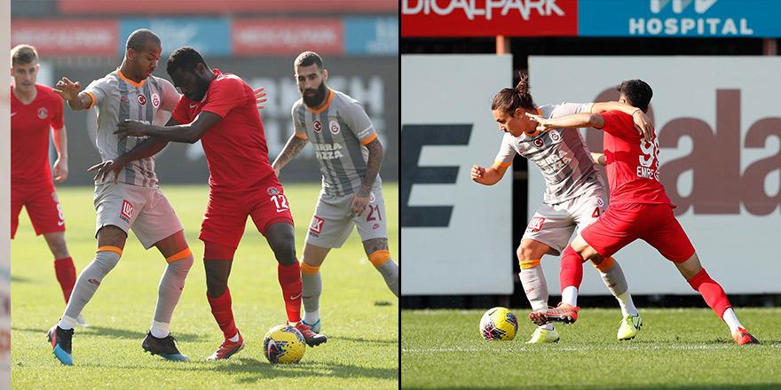 Galatasaray, hazırlık maçında Ümraniyespor'u 4-0 yendi