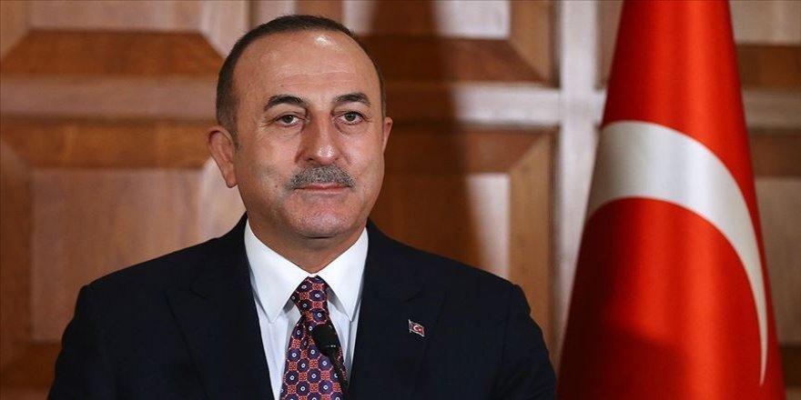 """Çavuşoğlu: """"Yüz milyonlarca Müslüman Filistinlilerle beraberdir"""""""