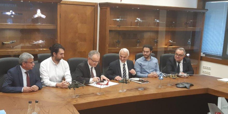 KTÜN ile TUSAŞ arasında işbirliği protokolü imzalandı