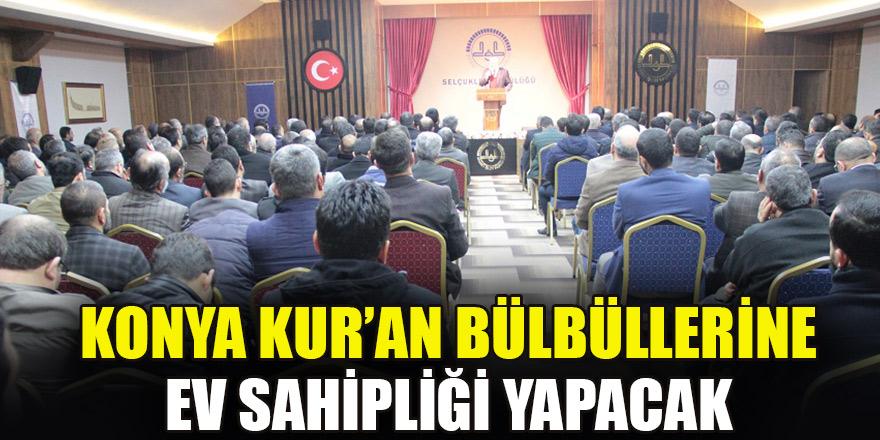 Konya 'Kur'an Bülbüllerine' ev sahipliği yapacak