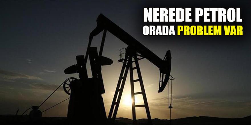 Nerede petrol orada problem var