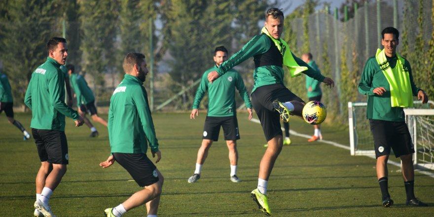 Konyaspor'da parola puan