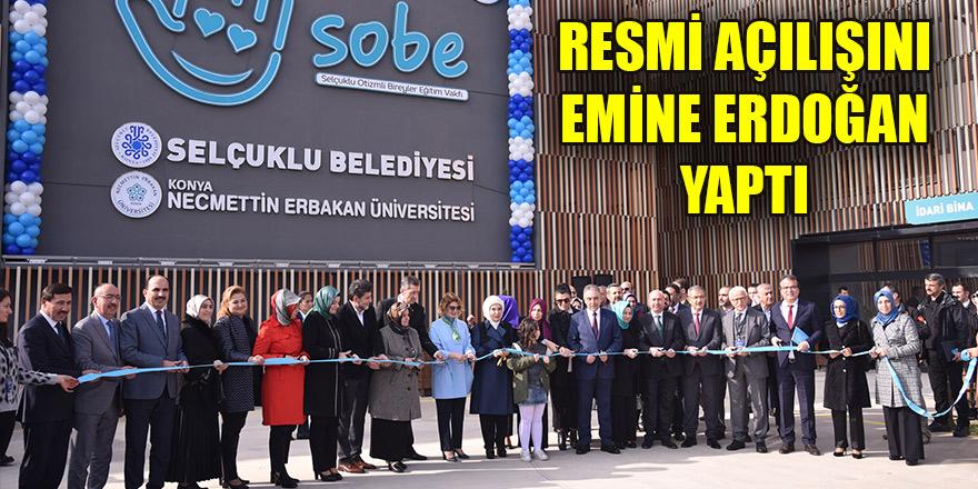 SOBE'nin resmi açılışını Emine Erdoğan yaptı