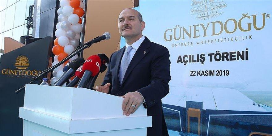 """İçişleri Bakanı Soylu: """"Biz bir yeri sömüren bir devlet olmadık hiçbir zaman"""""""