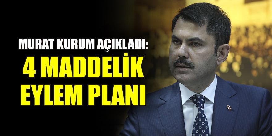 Murat Kurum açıkladı: Dipsiz Göl için 4 maddelik eylem planı