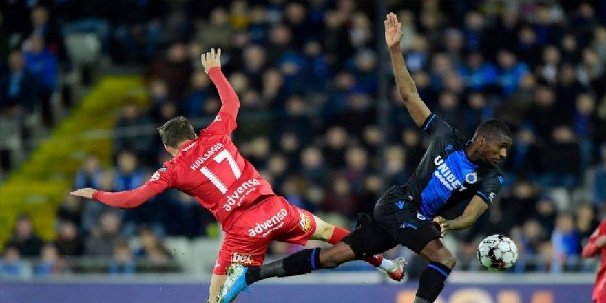 Galatasaray'ın Avrupa'daki rakiplerinden Club Brugge, evinde kazandı
