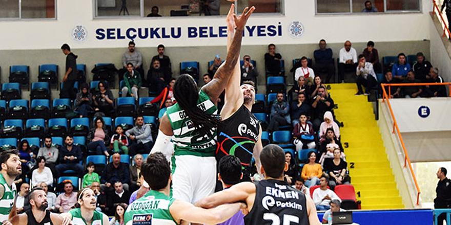 Konyaspor Basket galibiyeti kaçırdı