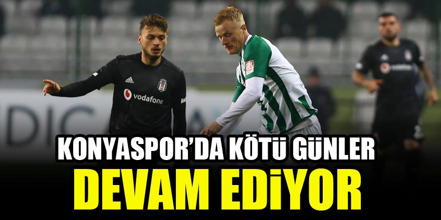 Konyaspor'da kötü günler devam ediyor