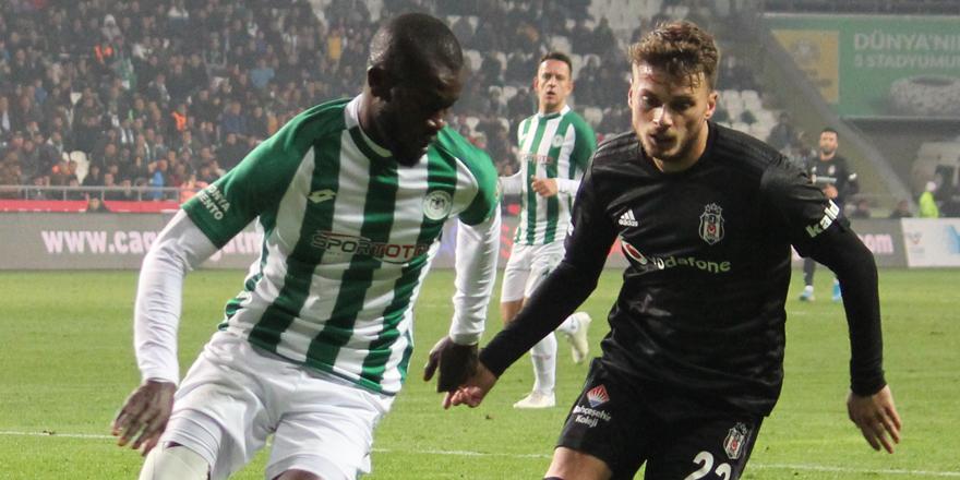 Konyaspor'da Diagne formayı kaptı