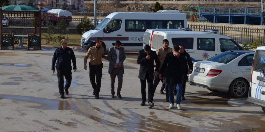 Konya'da dolandırıcılık iddiasında gözaltına alınan şahıs tutuklandı