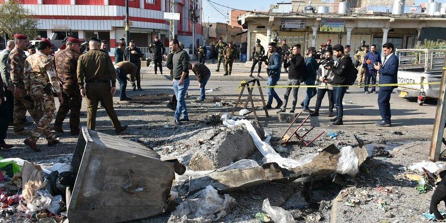 Irak'ın Kerkük kentindeki patlamalarda 16 kişi yaralandı