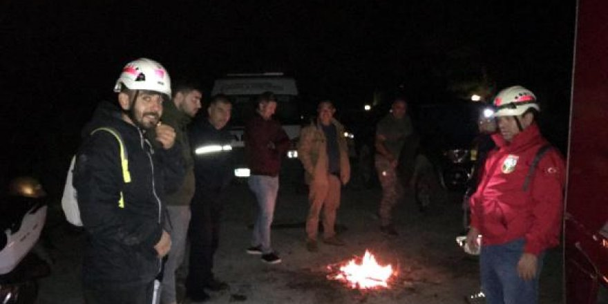 Marmaris'te dağda kalan bir kişiyi AKUT kurtardı