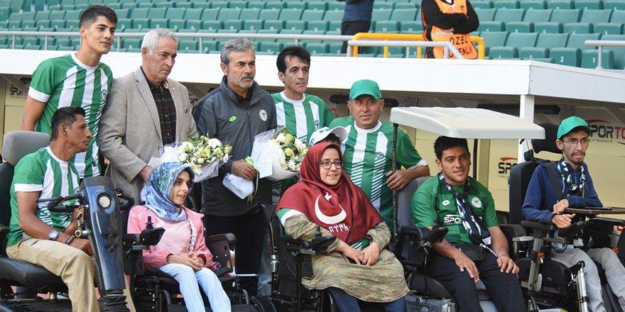 Konyaspor, Dünya Engelliler Günü'nü unutmadı