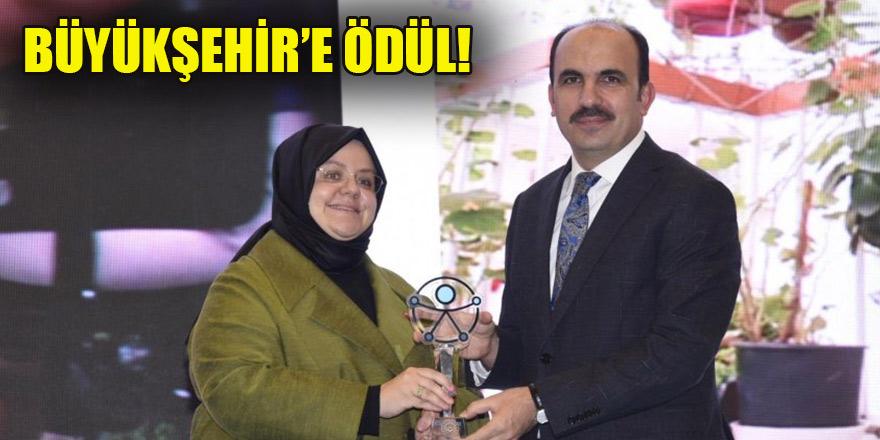 Konya Büyükşehir'e 'Erişebilirlik Ödülü'