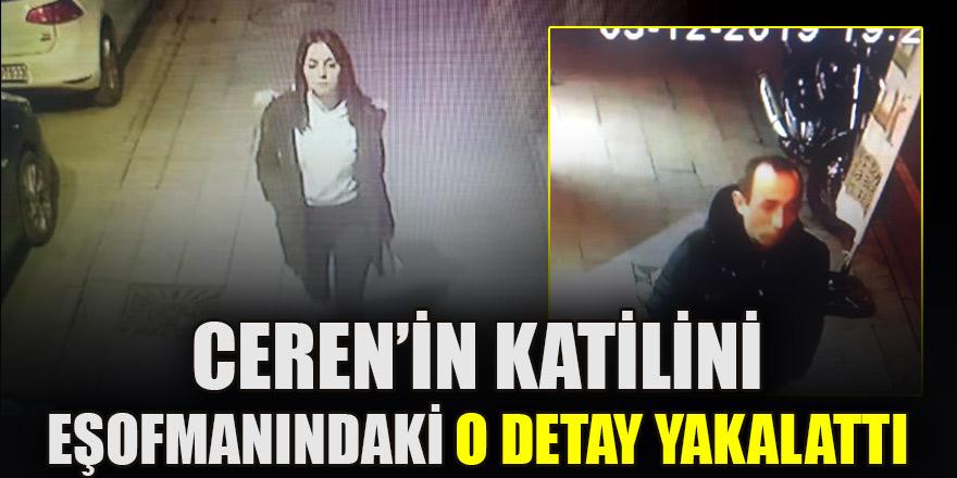 Ceren'in katilini eşofmanındaki 'kırmızı çizgi' yakalattı