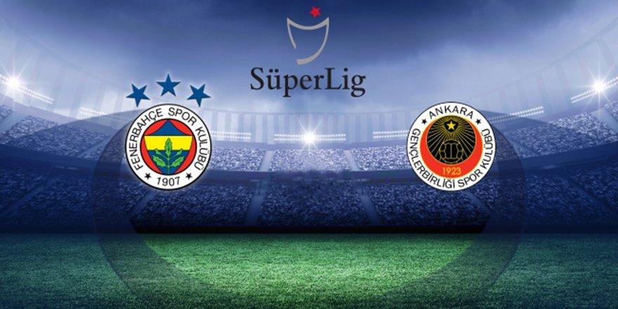Fenerbahçe, Gençlerbirliği'ni ağırlayacak