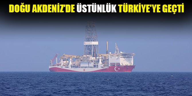 Doğu Akdeniz'de üstünlük Türkiye'ye geçti