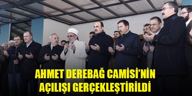 Karatay'da Ahmet Derebağ Camisi'nin açılışı gerçekleştirildi