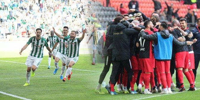 Konyaspor ile Gaziantep FK dokuzuncu randevuda