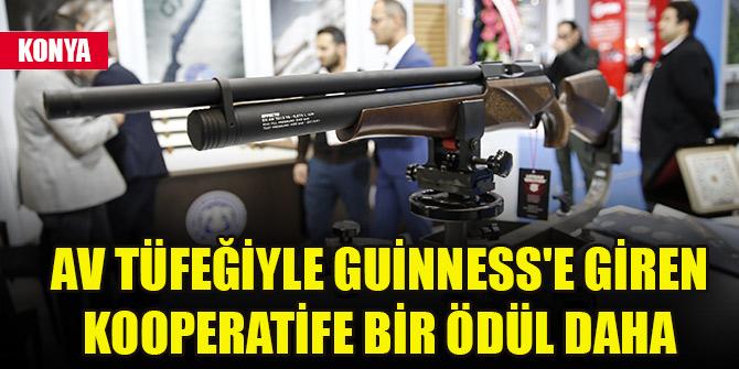 Av tüfeğiyle Guinness'e giren kooperatife bir ödül daha
