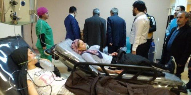 Çorum'da kız öğrenci yurdunda zehirlenme: 105 kişi hastaneye kaldırıldı