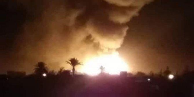 Libya'da Hafter'e bağlı uçaklar Misrata Hava Kuvvetleri'ni bombaladı