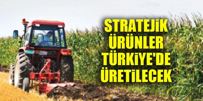 Stratejik ürünler Türkiye'de üretilecek