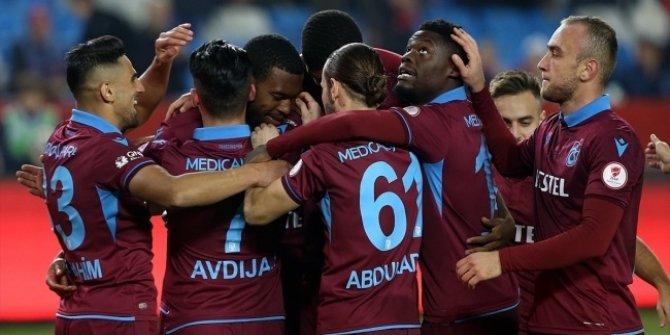 Trabzonspor kupada turladı