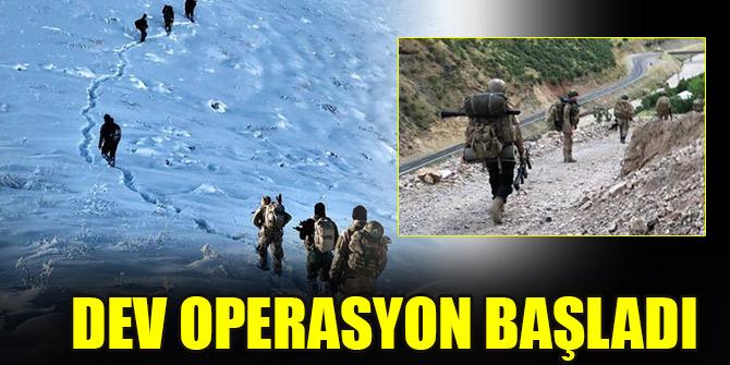 'Kıran-9 Cudi Dağı' ve 'Kıran-10 Kazan Vadisi' operasyonları başlatıldı