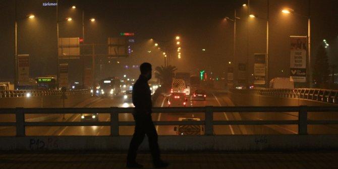 Hava kirliliği Adana'da nefes aldırmıyor