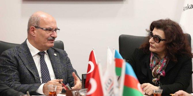 """ATO Başkanı Baran: """"Türkiye ve Azerbaycan'ın ticaret hacmini 5 milyar dolara çıkarmalıyız"""""""