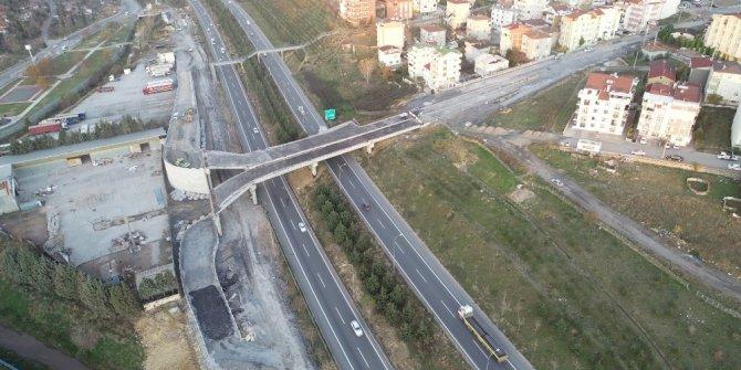 Tuzla Şifa - Çayırova bağlantı köprüsünde çalışmalar hızla sürüyor