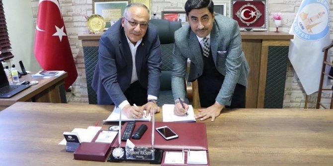 Derinkuyu Belediyesi'nde imzalar atıldı