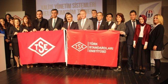 TSE'den Gaziantep Üniversitesine dört kalite ve hijyen belgesi