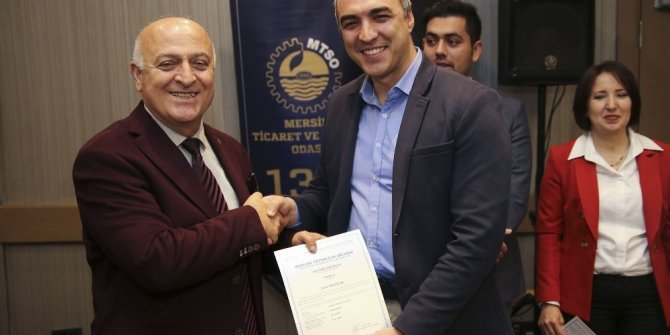 Türkiye'nin ilk dış ticaret sorumlusu MYK Belgeleri dağıtıldı