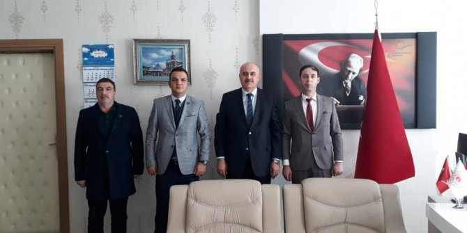 MHP'den Çevre Şehircilik İl Müdürü Bilgin'e ziyaret