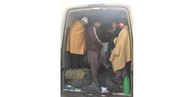 Başkent'te 38 düzensiz göçmen yakalandı