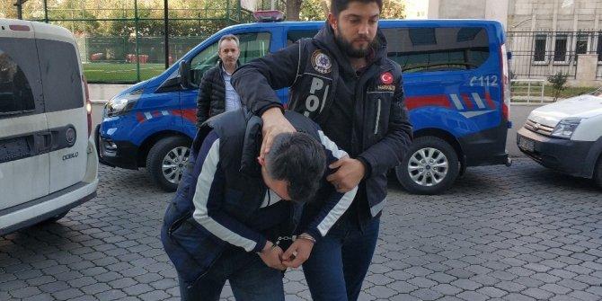 Uyuşturucu ticaretinden gözaltına alındı