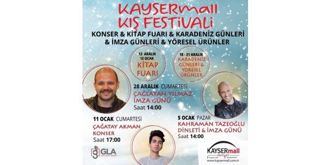"""KAYSERmall Outlet, """"Kış  Festivali"""" ile adını duyurmaya devam ediyor"""