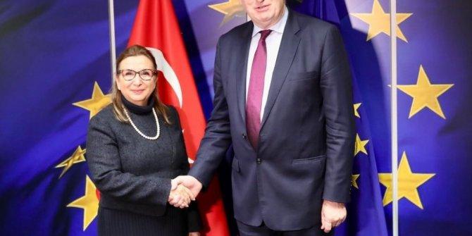 """Ticaret Bakanı Pekcan: """"Gümrük Birliği'nin güncellenmesinde karşımızda güçlü bir irade görmekten memnun olduk"""""""