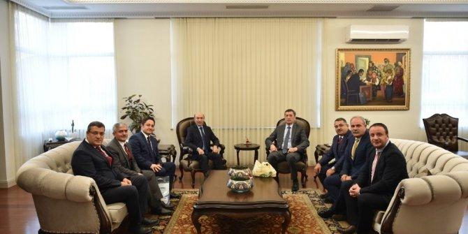 Rektör Gül'den Milli Eğitim Bakanı Selçuk'a ziyaret