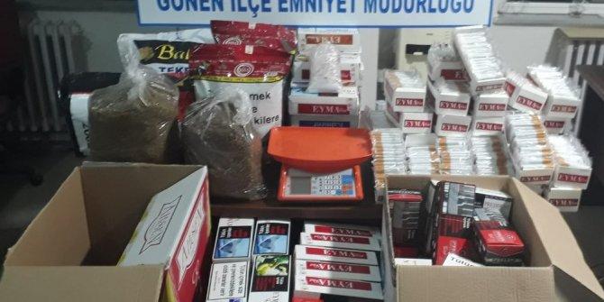Polisten kaçak tütün operasyonu