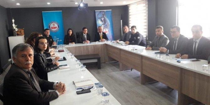Alaçam'da Kadına Yönelik Şiddet Toplantısı