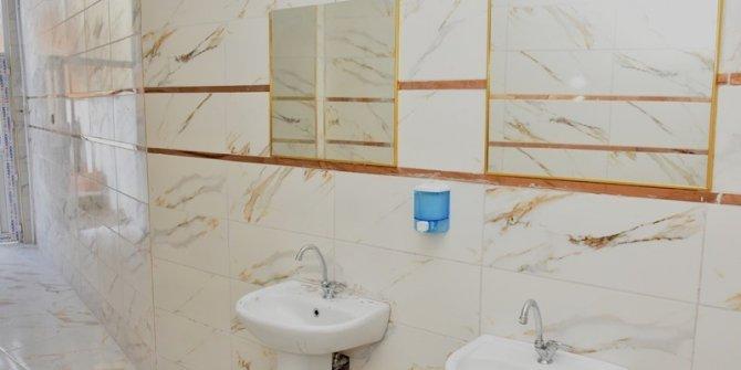 İnönü'de umuma açık lavabo ve tuvaletler yenilendi