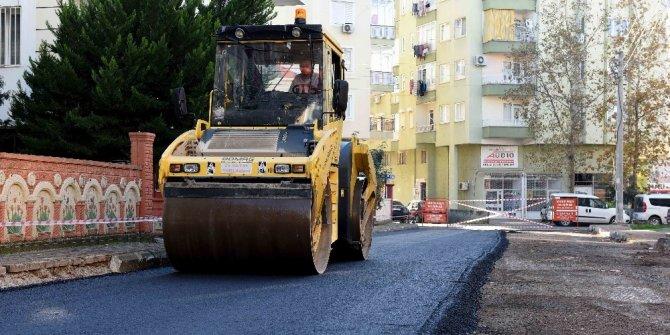 Muratpaşa Mahallesi'nde asfalt çalışmaları sürüyor