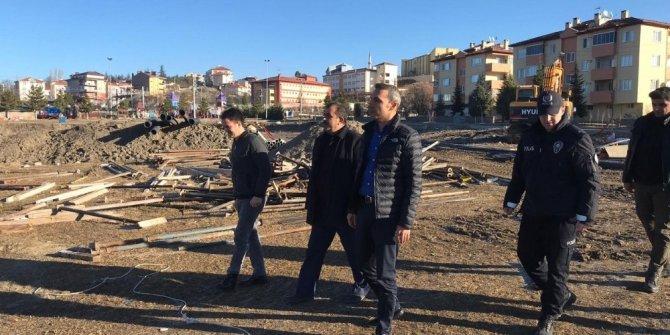 Emet İlçe Emniyet Müdürlüğü binasının yapımı başladı