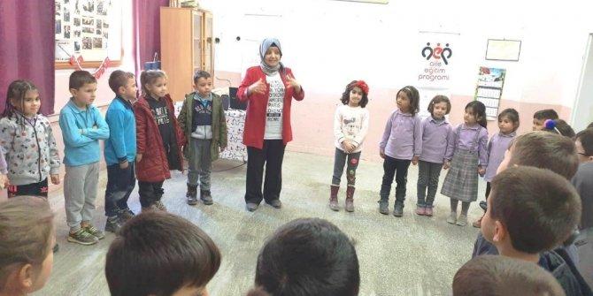 Hisarcık'ta çocuklara 'Mahremiyet' konulu eğitim